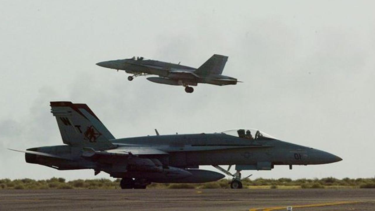 ABD uçakları, Irak ve Suriye'yi bombaladı