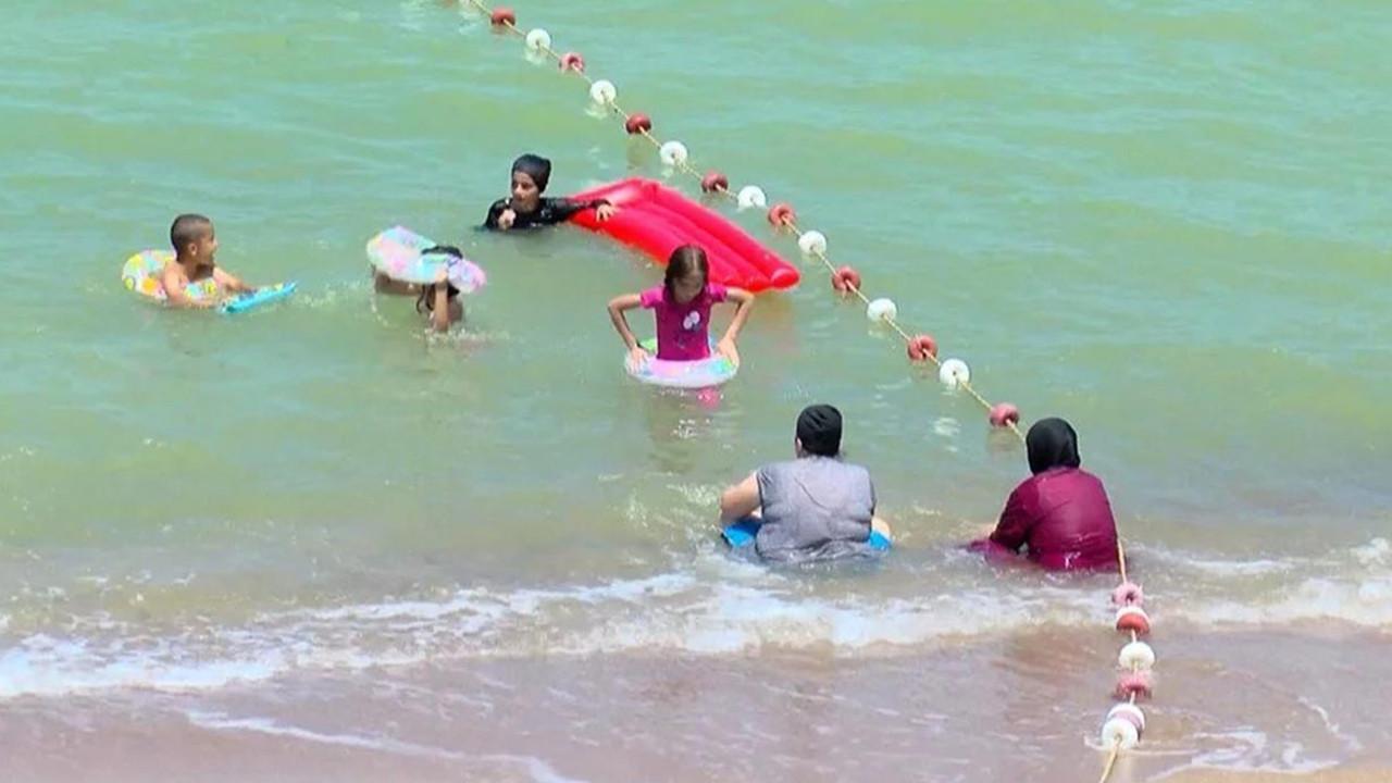 Şile'de denizin rengi değişti! İsyan ettiren görüntüler