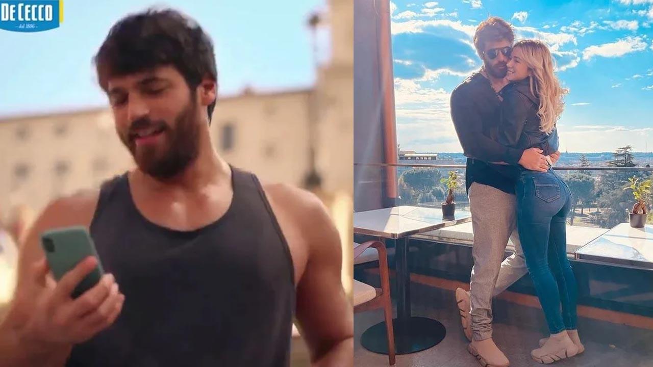 Can Yaman İtalya'da reklam filminde oynadı: İşte o görüntüler...