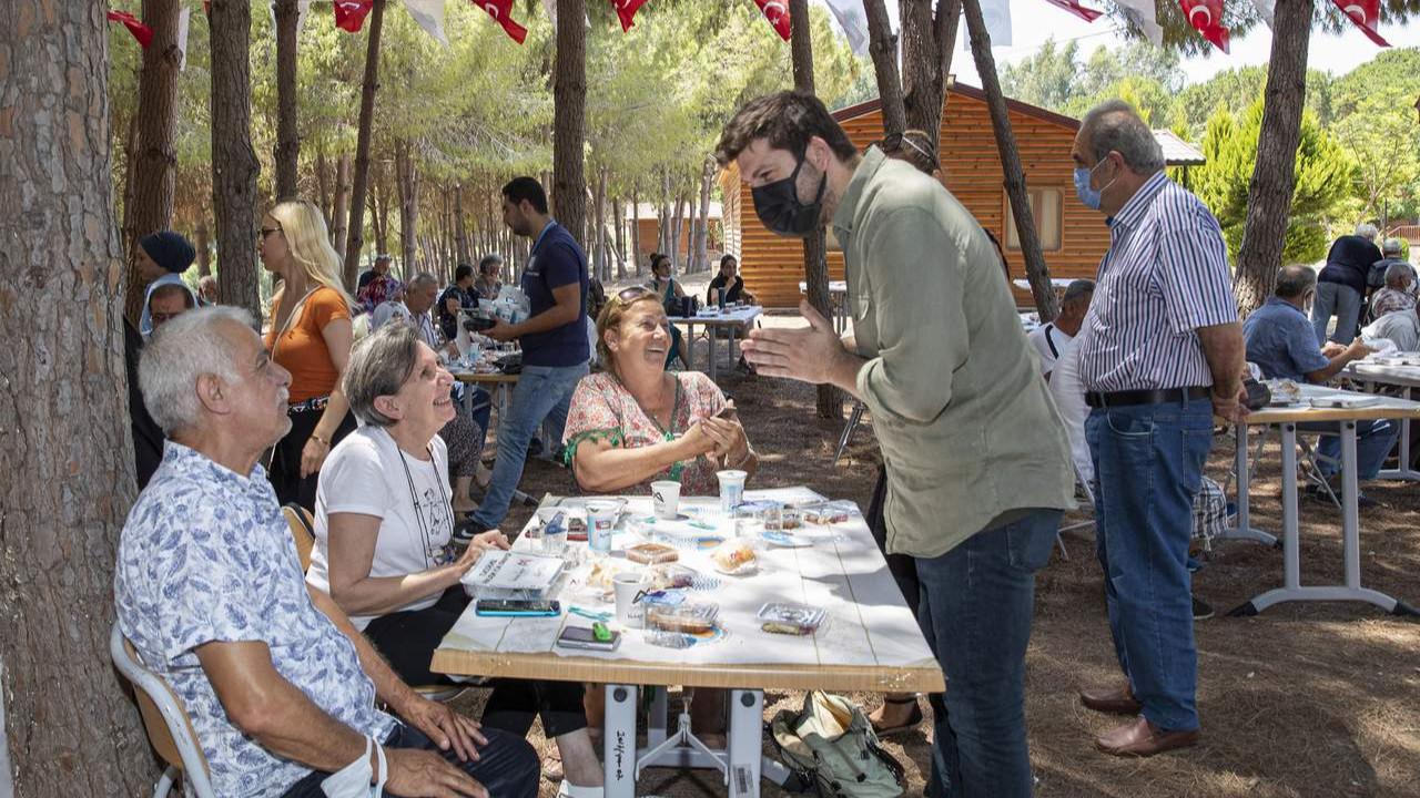 Mersin Büyükşehir Emekli Evlerinden ortak etkinlik