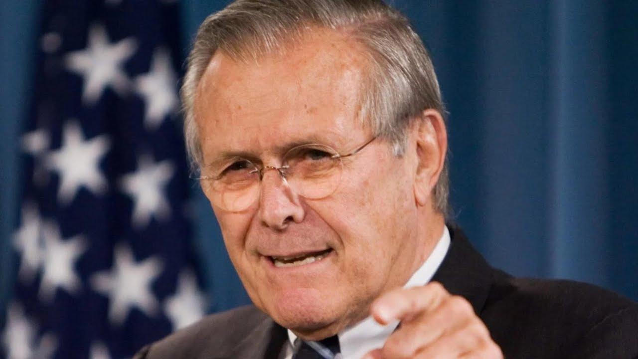 ABD'nin ortadoğu işgallerinin mimarı Rumsfeld öldü