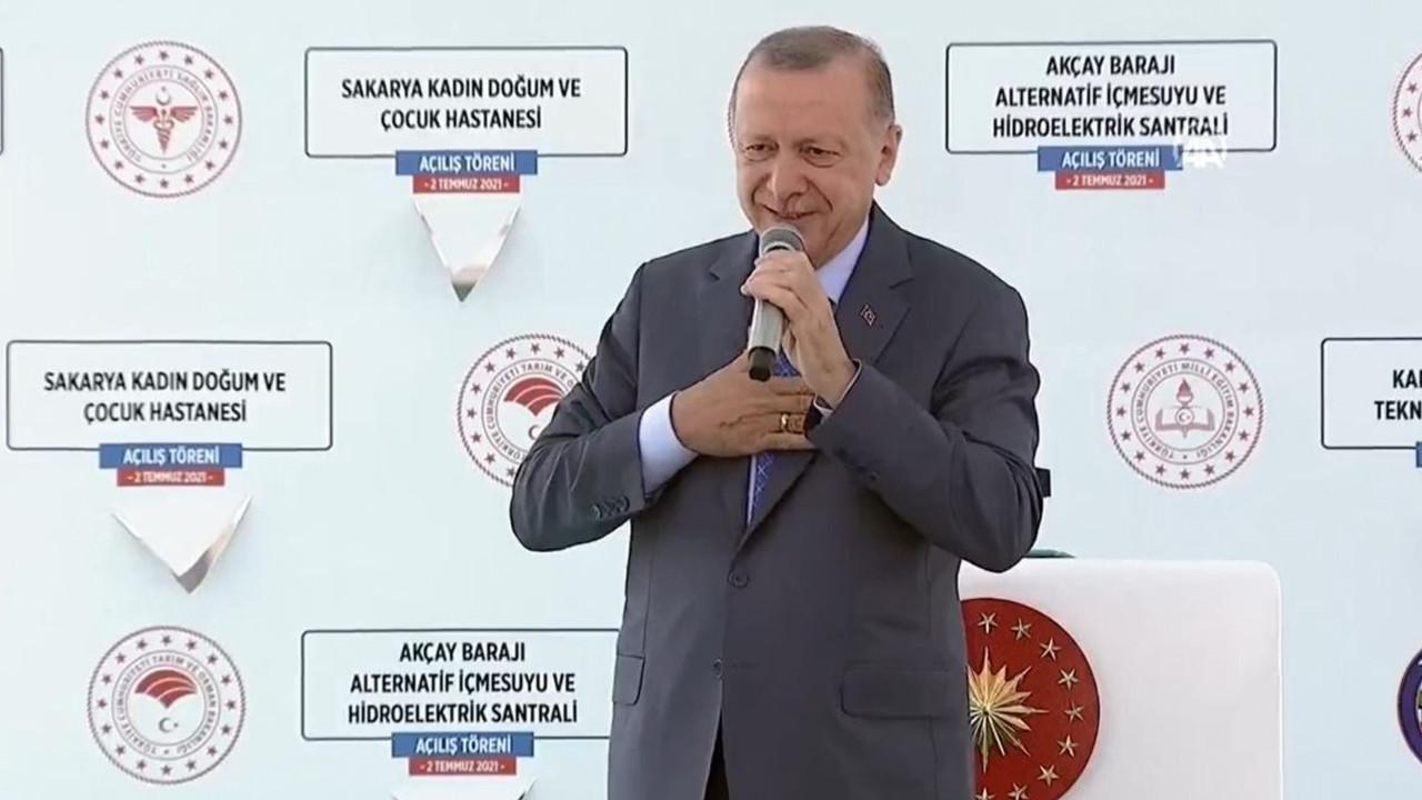 Erdoğan Sakarya'da ''müjde'' verdi: ''İnşallah çok yakında...''