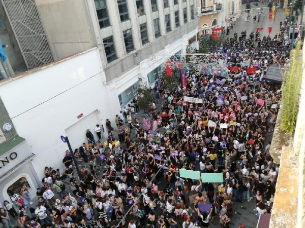 Taksim'de İstanbul Sözleşmesi gerilimi...
