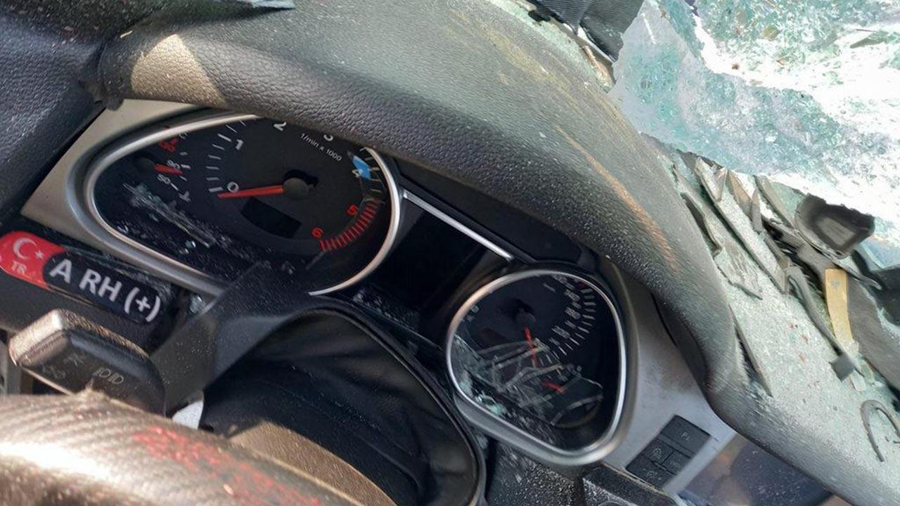 Korkunç kaza! Hız göstegesi 280'de takılı kaldı