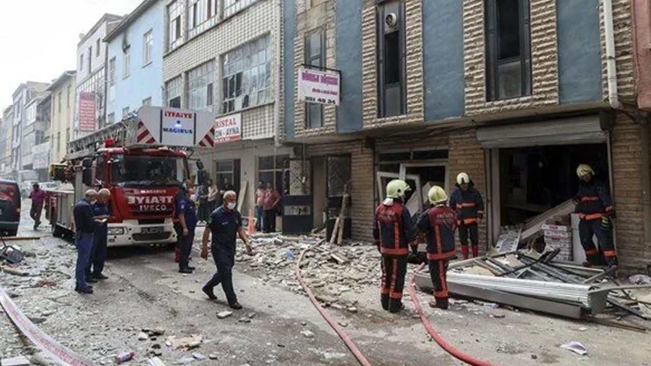 Ankara'da patlama: 2 yaralı