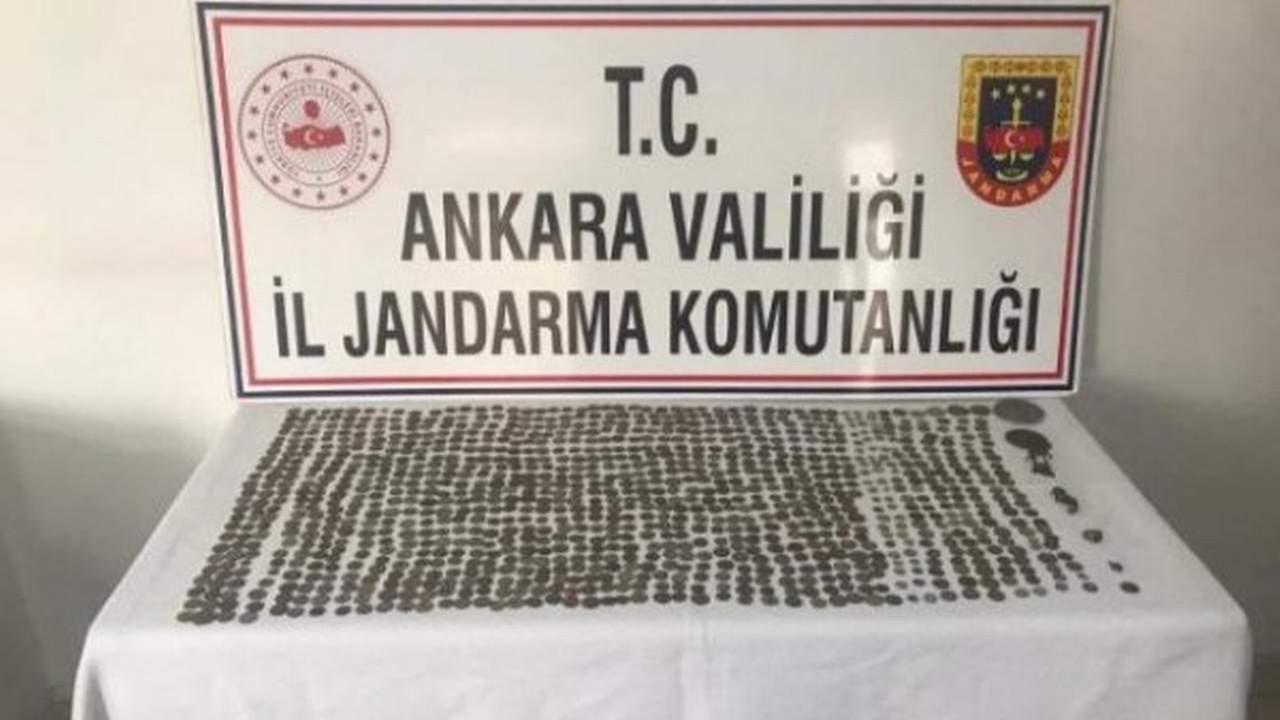 Ankara'da yüzlerce tarihi eser ele geçirildi