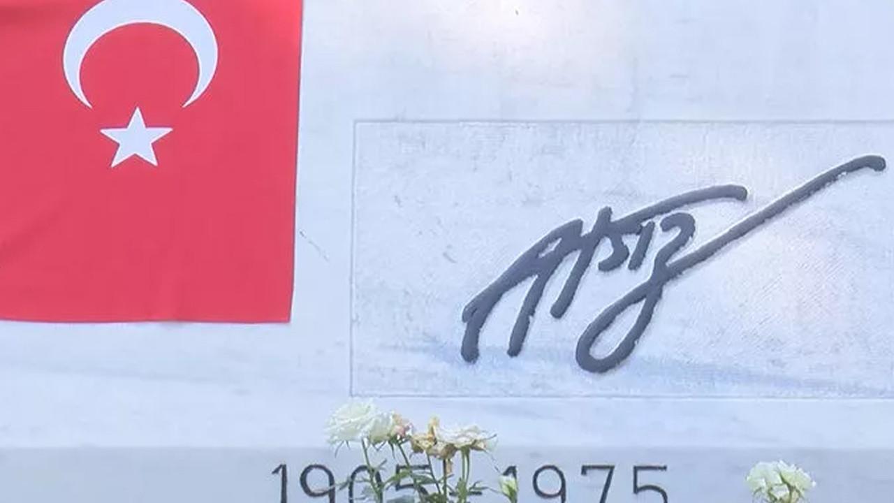 Çirkin saldırı: Nihal Atsız'ın mezarı tahrip edildi