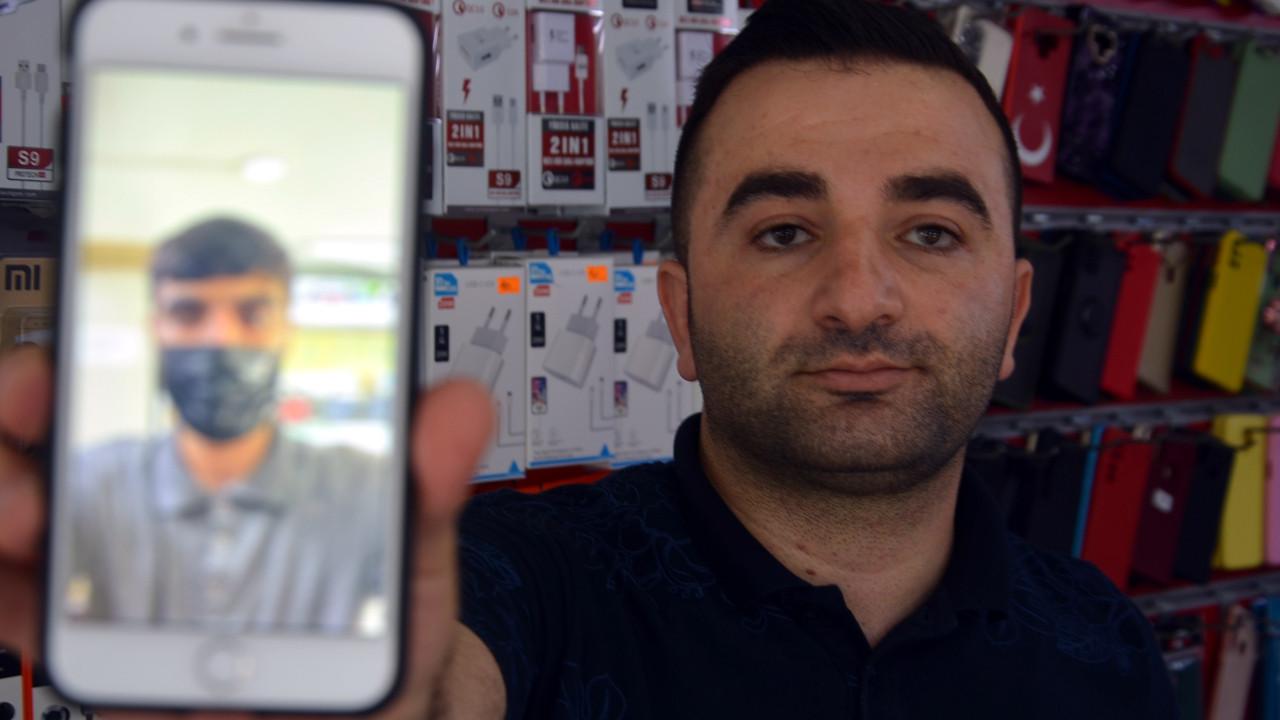 Hırsızlık zanlısını selfie merakı yakalattı