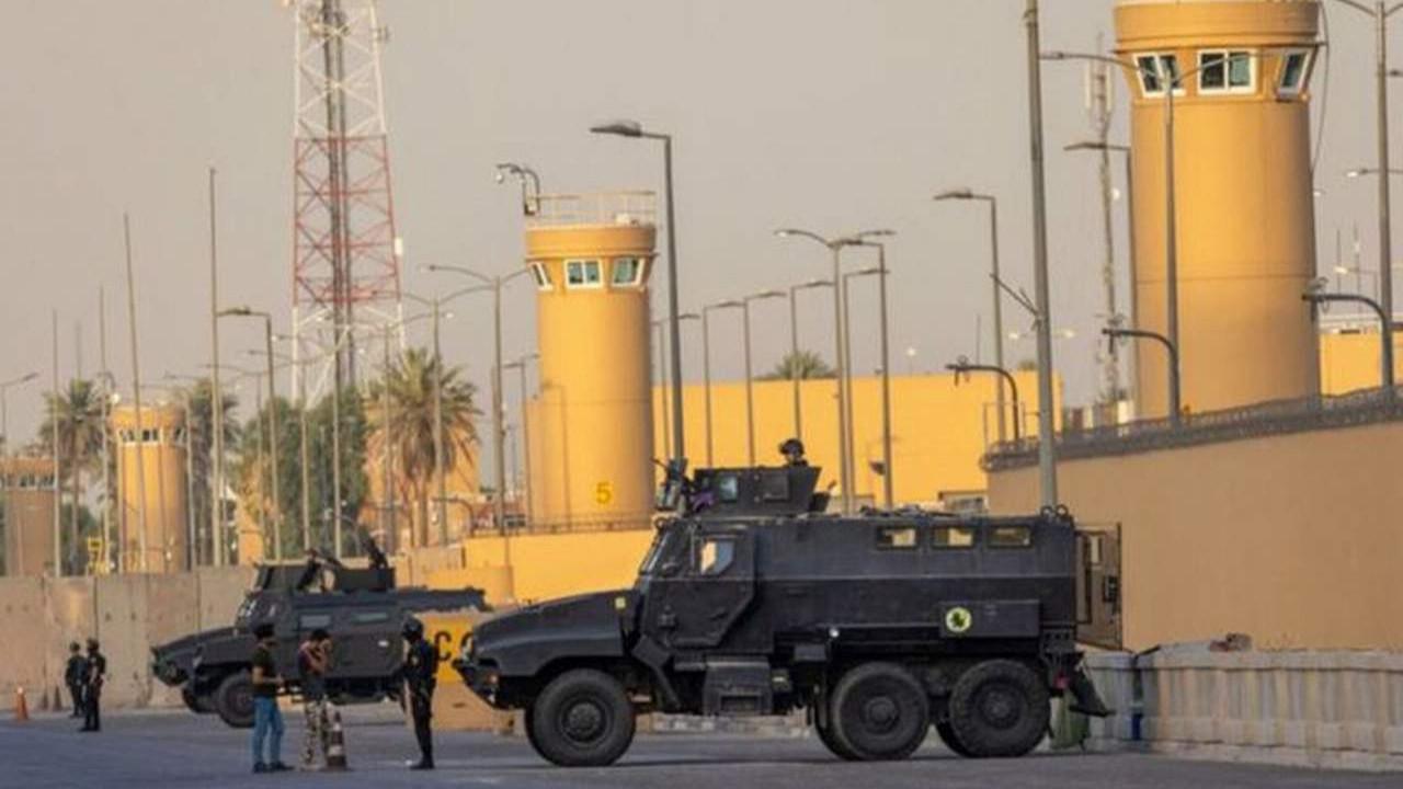 ABD Büyükelçiliği'ne bombalı drone ile saldırı girişimi