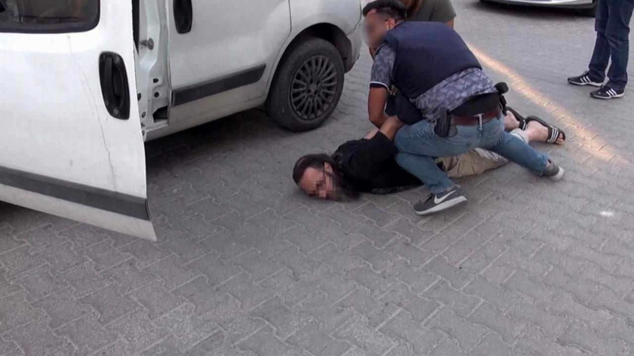 Eylem hazırlığındaki DEAŞ'lı böyle yakalandı