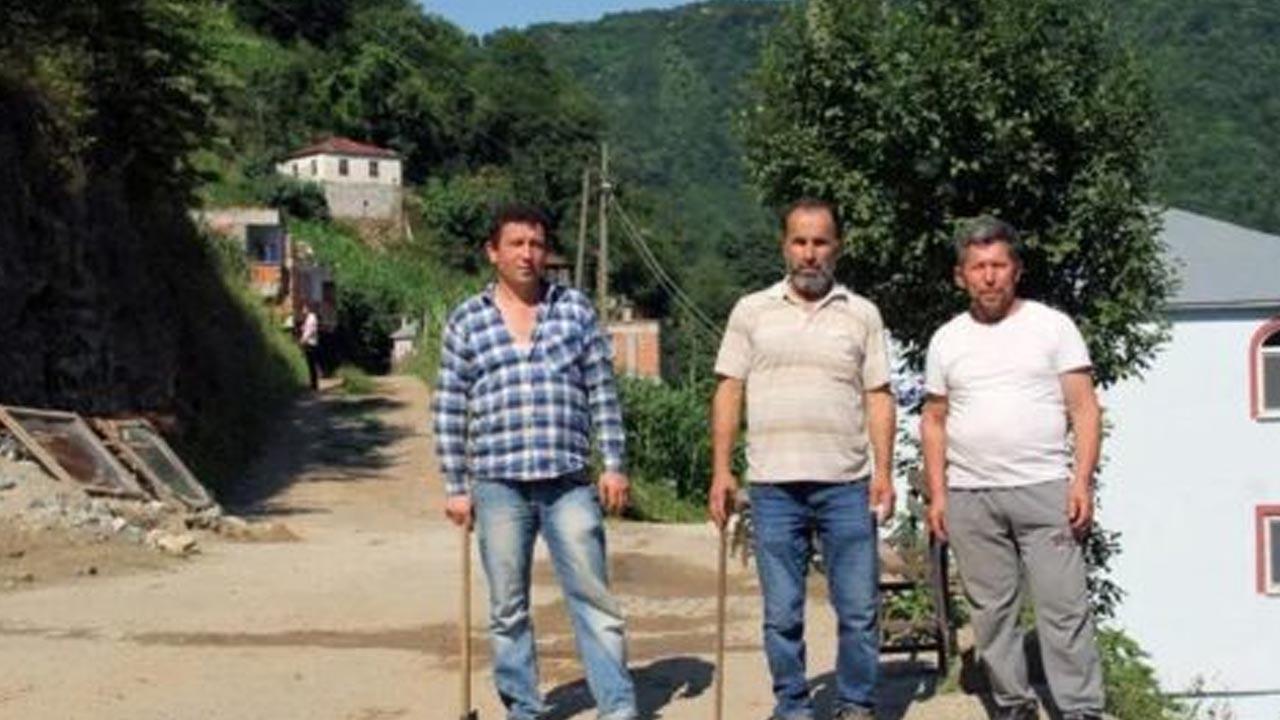 Mehmet Aydın'ın köylüleri üzgün