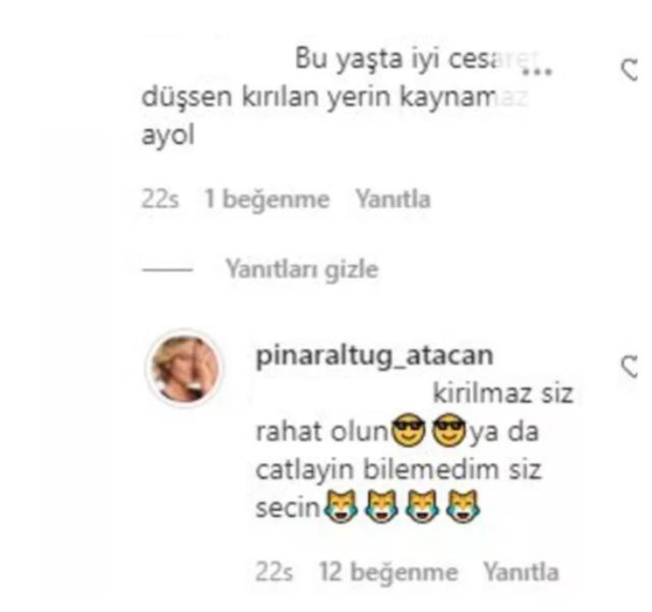 Kırmızı mayosuyla poz veren Pınar Altuğ'u çıldırtan yorum - Resim: 3