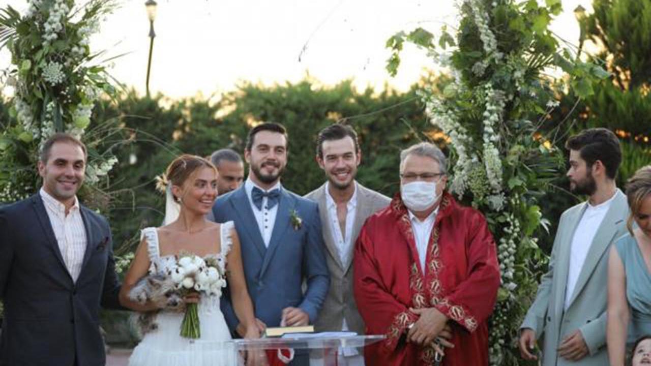 İsmail Ege Şaşmaz ile Hande Ünal evlendi