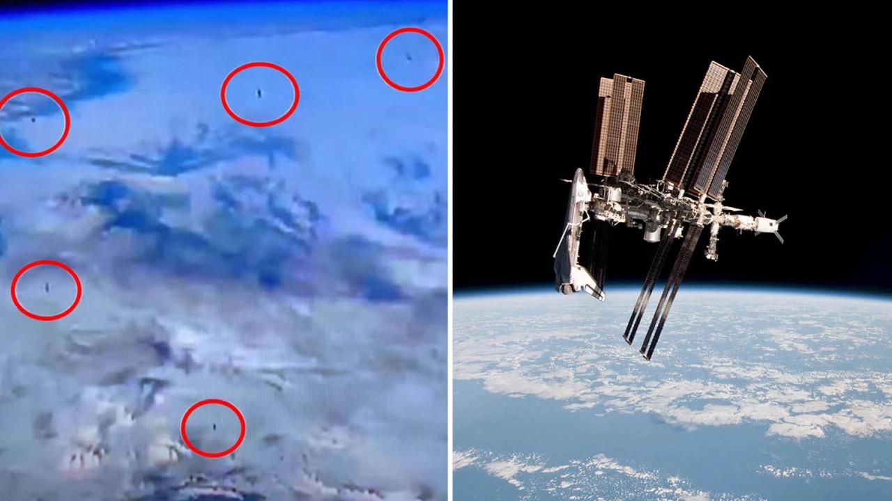 NASA'nın canlı yayında sosyal medyayı karıştıran görüntüler