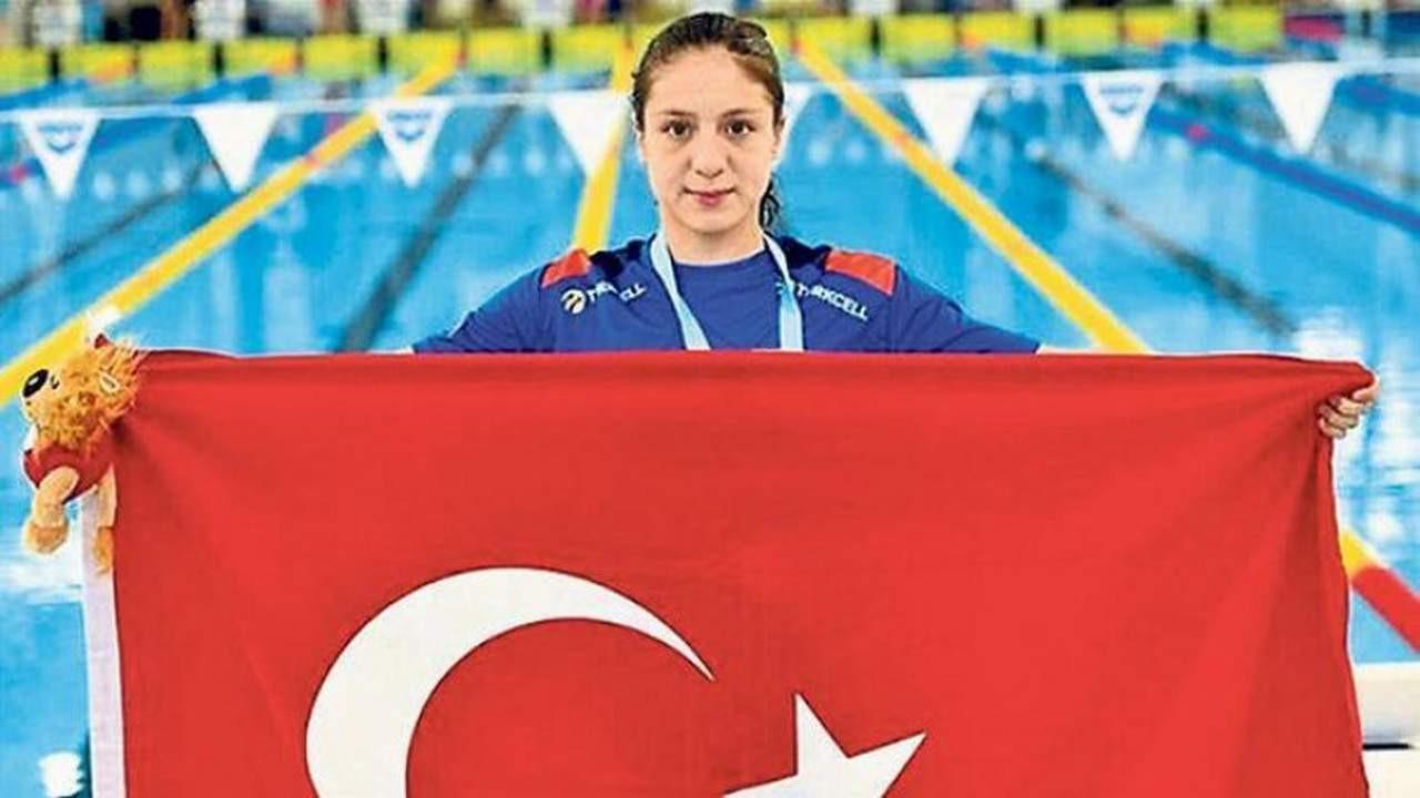 Milli yüzücüden Avrupa rekoru