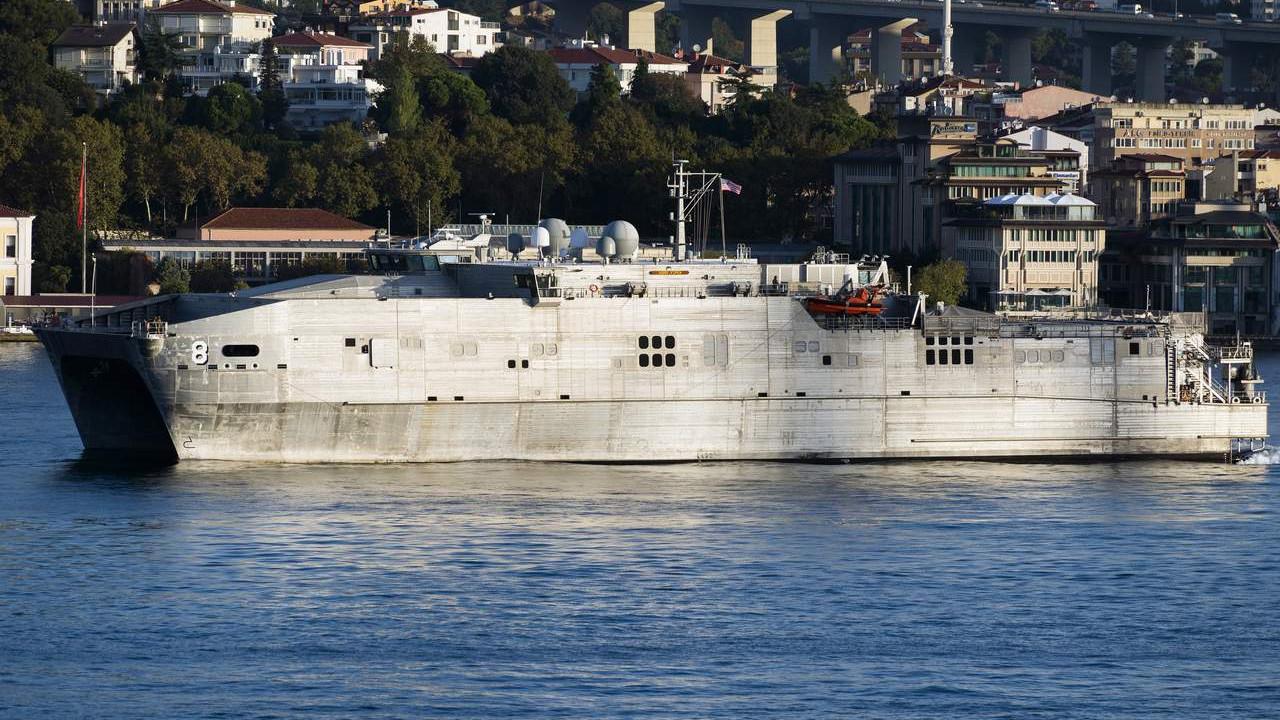 ABD gemisi Karadeniz için geliyor