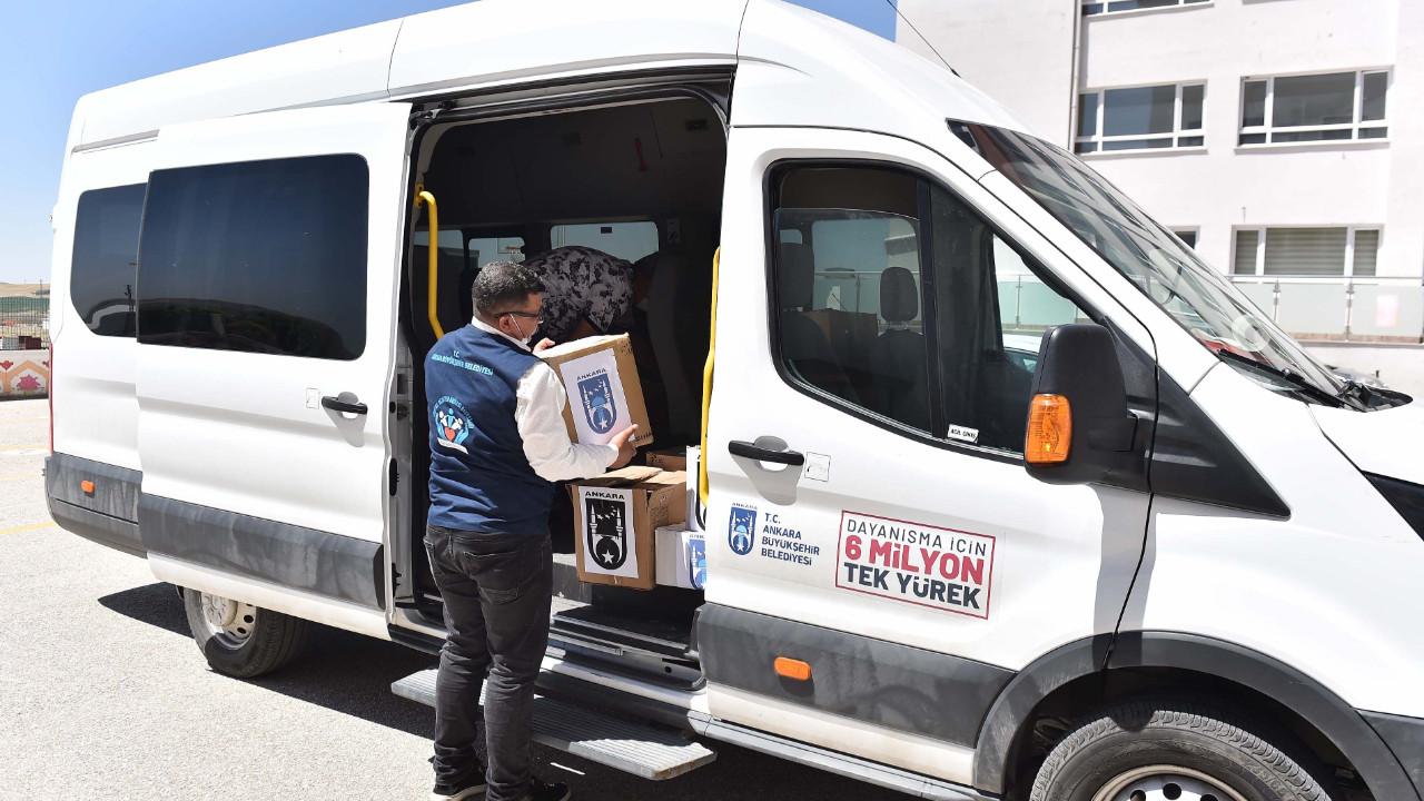 Ankara Büyükşehir'den ''Yeni kitaplar yeni ufuklar'' kampanyasıyla okullara dev destek