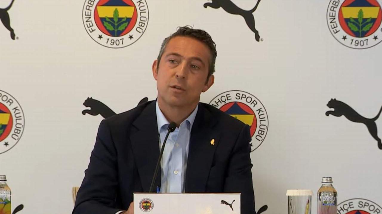 Fenerbahçe'de sürpriz karar! Ali Koç açıkladı