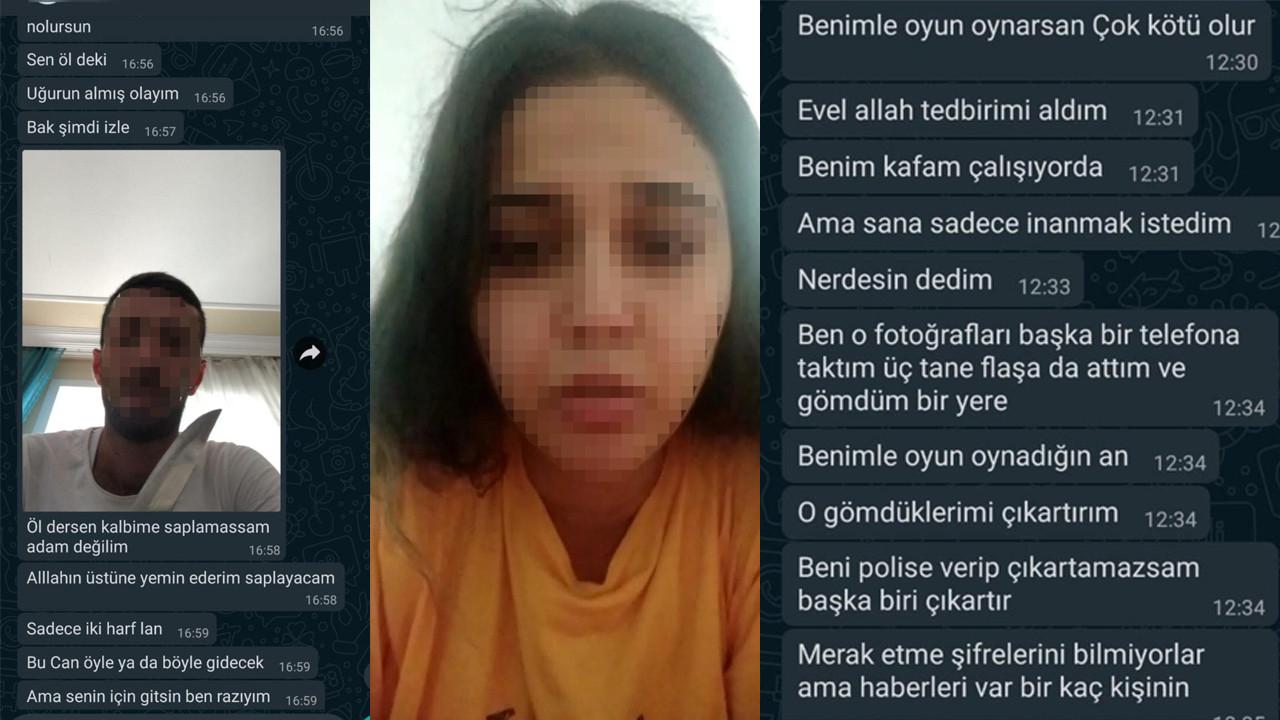 2 çocuk annesi genç kadına iğrenç şantaj