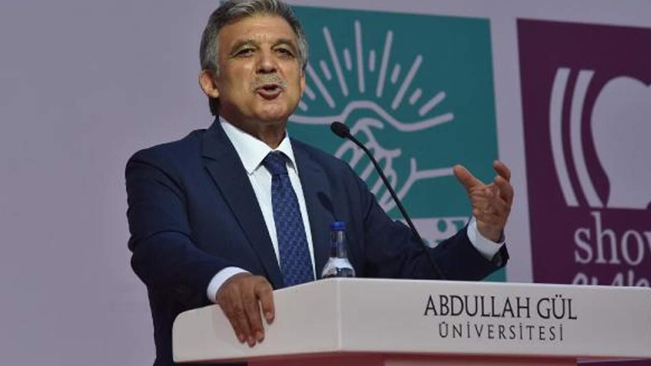 Abdullah Gül Atatürk'ün o sözleriyle ortaya çıktı