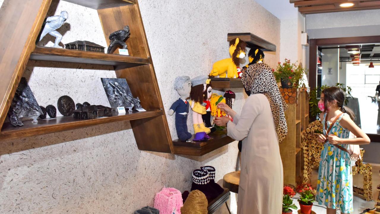Atölye ANFA Başkent'te üreten kadınlara gelip kapısı olacak