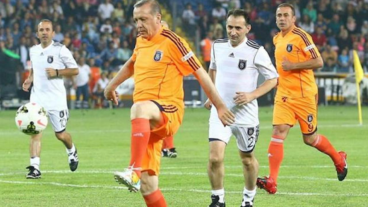 Cumhurbaşkanı Erdoğan ''Şöhretler Karması'' maçında sahaya çıkacak