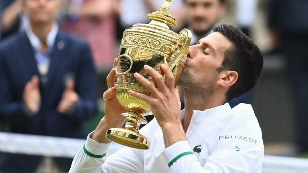 Wimbledon'da şampiyon Novak Djokovic