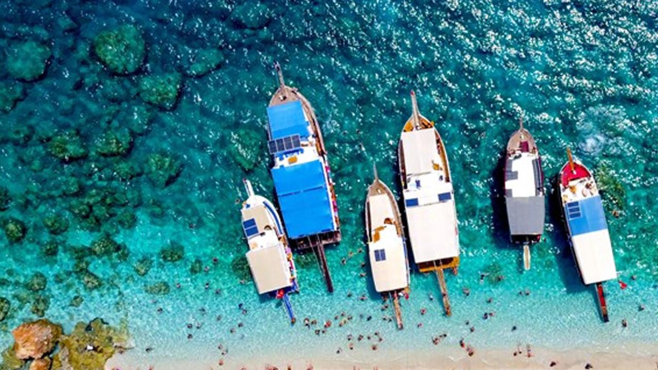 Burası Maldivler değil Türkiye: Turist akınına uğradı