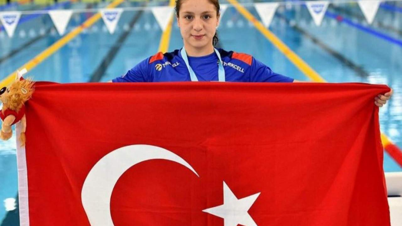 Merve Tuncel İtalya'dan altın madalyayla döndü
