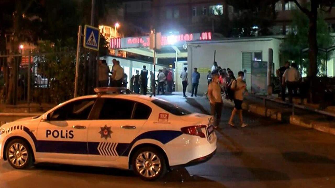 İstanbul'da acil servis önünde silahlı saldırı