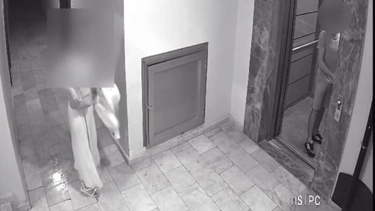 Asansörde mide bulandıran taciz! Bisikletli sapık tutuklandı