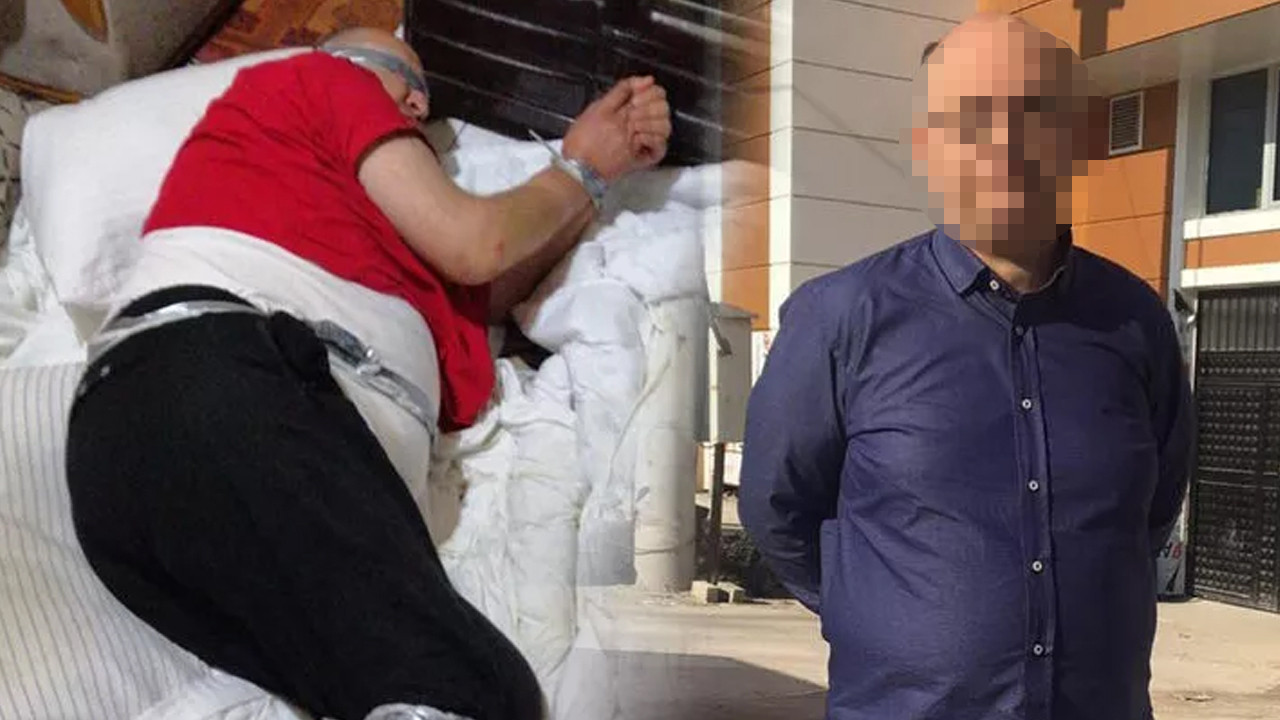 Polis kaçırılan iş insanını bu halde buldu