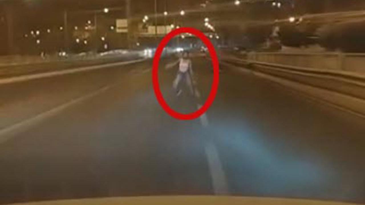 16 yaşındaki Aysel'i hayattan koparan kaza kamerada