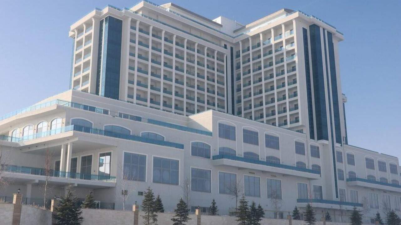 5 yıldızlı termal otel icradan satılıyor