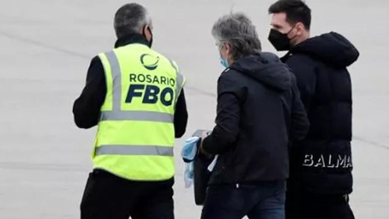 Lionel Messi'nin uçağında bomba paniği