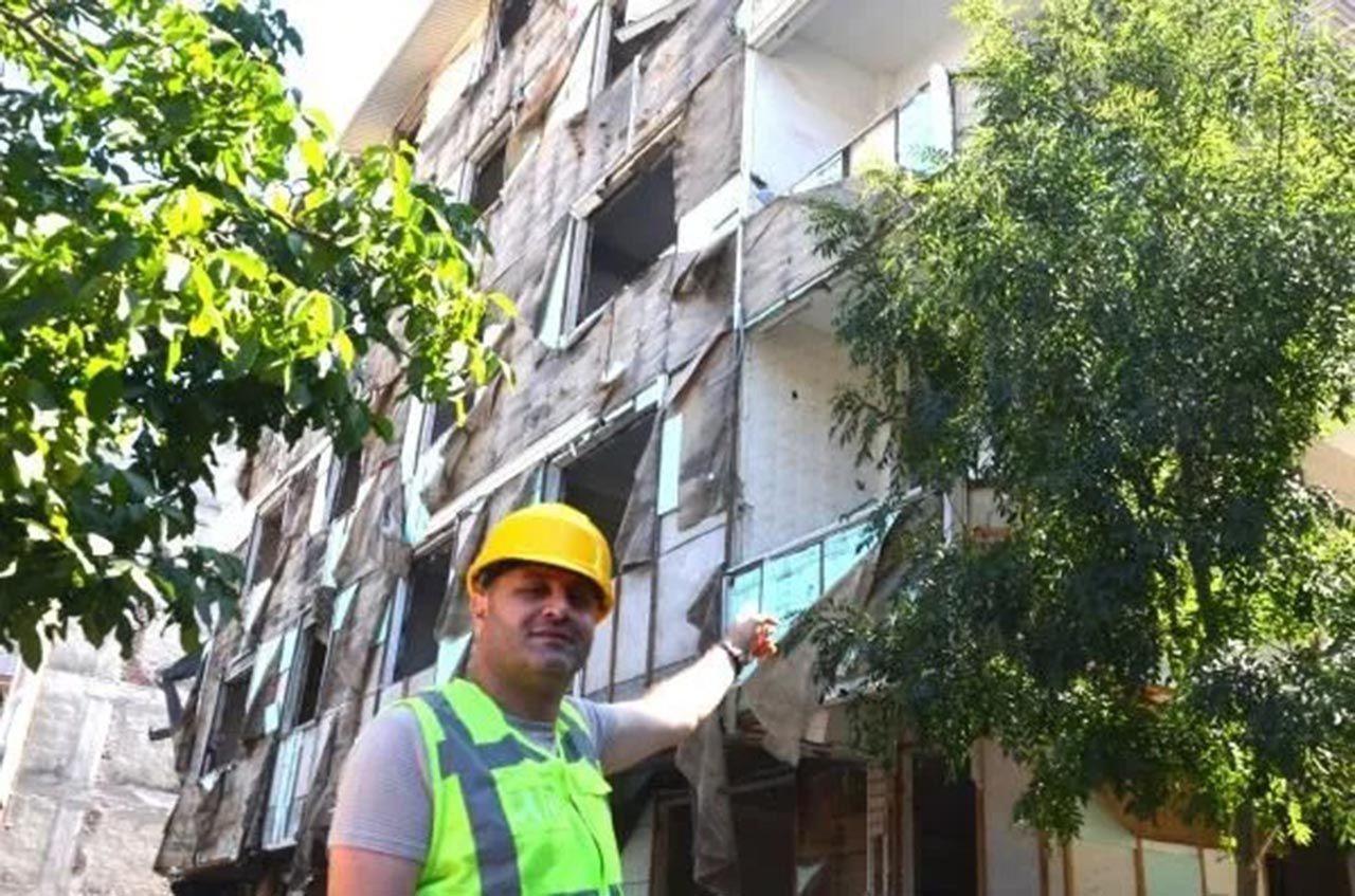İstanbul'da akılalmaz hırsızlık! Binanın ''dışını'' çaldılar - Resim: 2