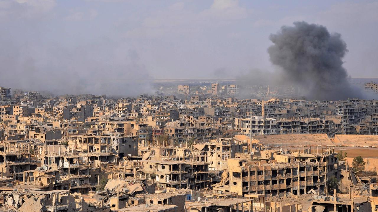 Suriye deneme tahtasına döndü: ''320'den fazla silah test ettik''