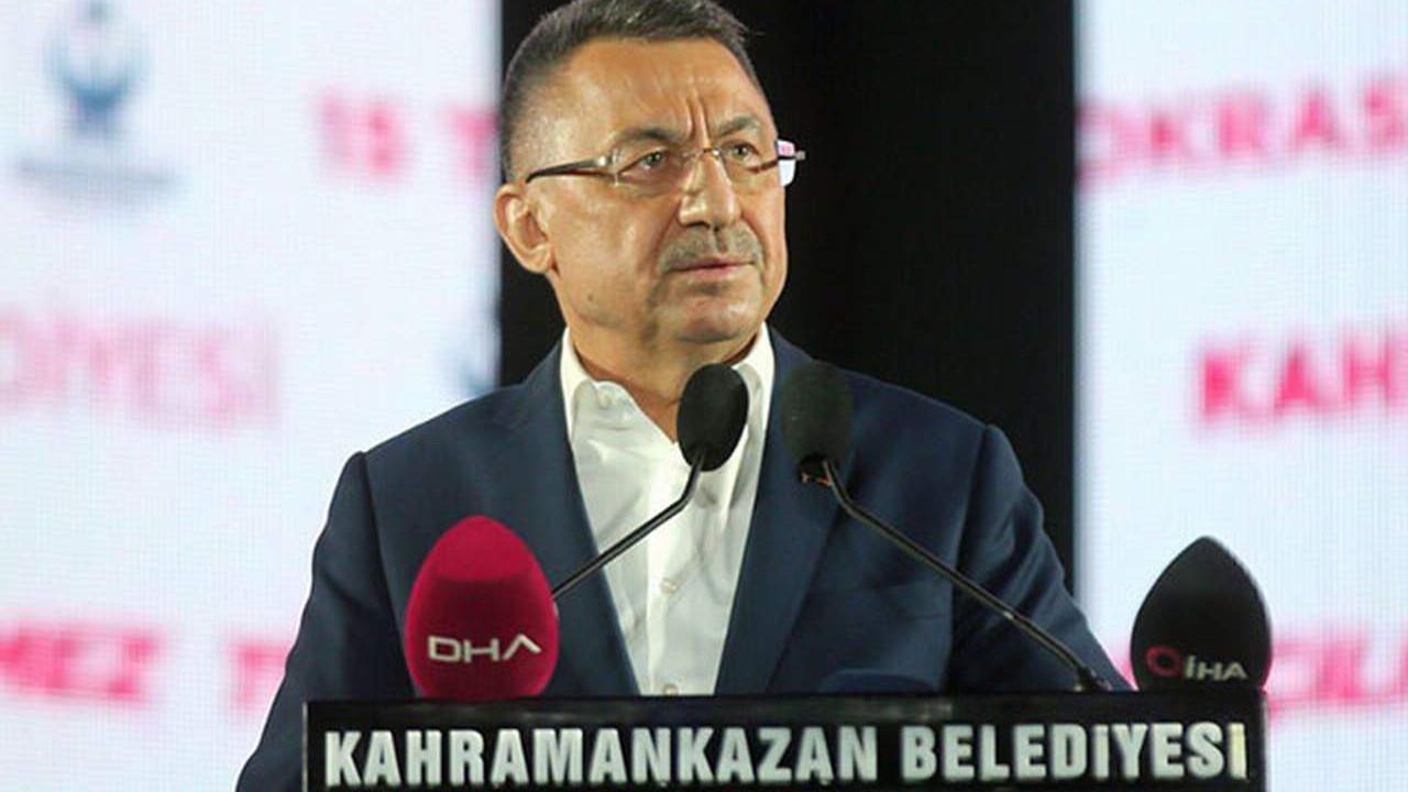 Fuat Oktay: ''Türkiye geçilmez dedik. Bu Çanakkale ruhudur''