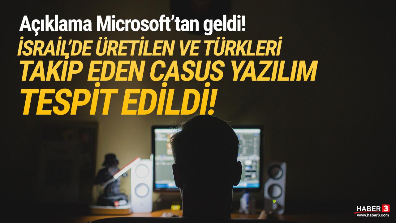 İsrail'de üretilmiş... Türkleri takip eden casus yazılım tespit edildi