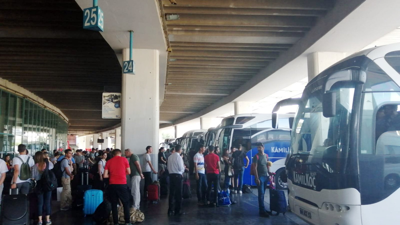 Kurban Bayramı öncesi otobüs bileti kalmadı