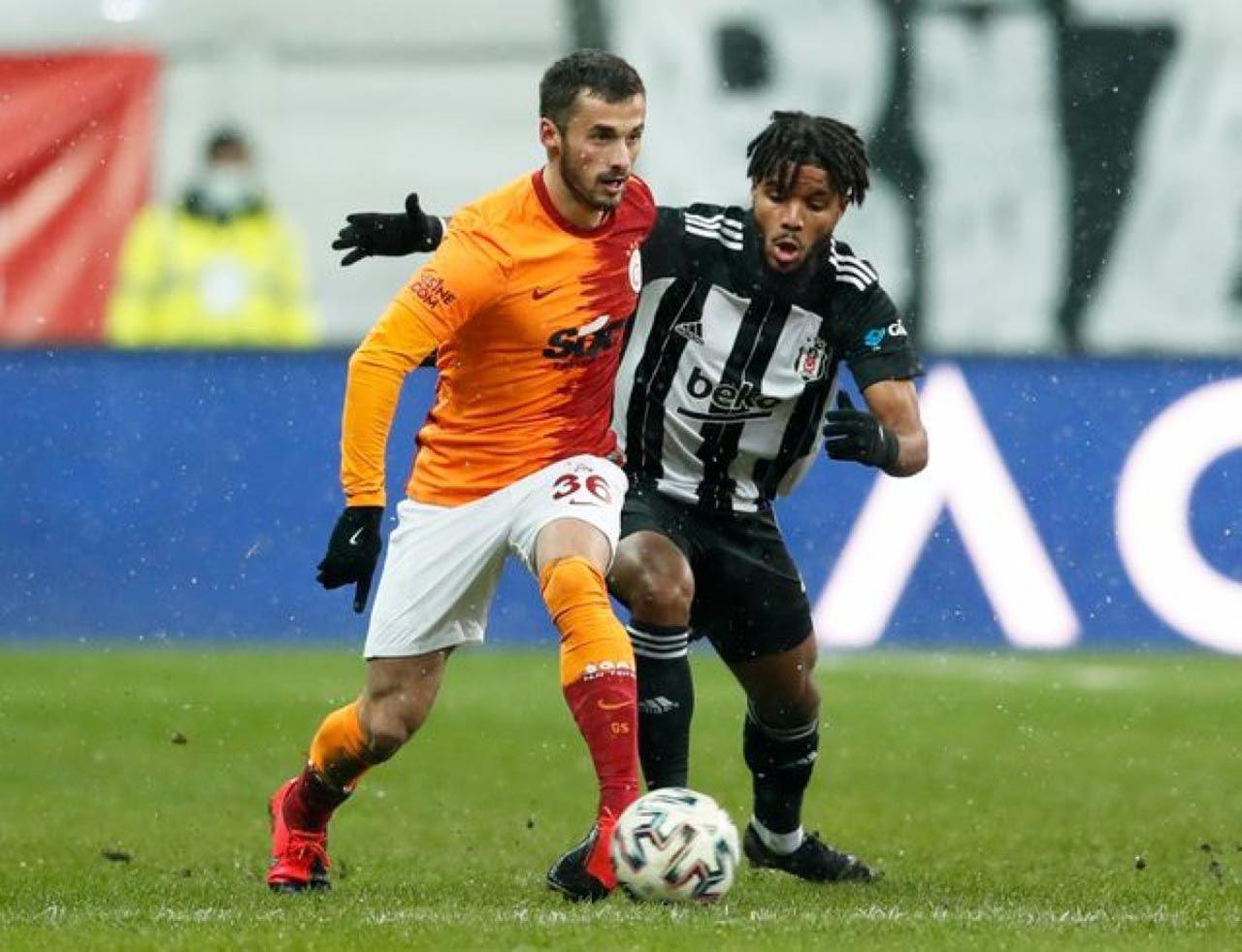 Galatasaray'ın şutu taca, Beşiktaş'ın şutu 90'a gitti - Resim: 3