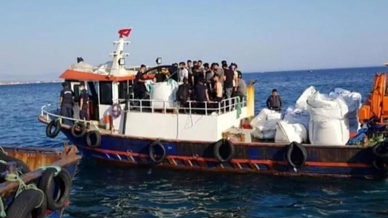 Aç ve susuz göçmenleri polis ve jandarma böyle kurtardı