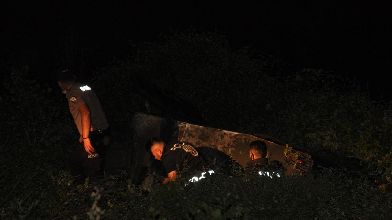 Askeri araç şarampole devrildi: 3 asker yaralı