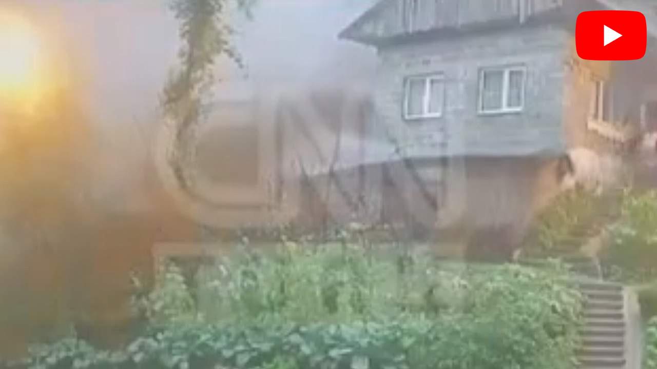 Rize'de selin evi yıktığı an kamerada! Korkunç görüntü