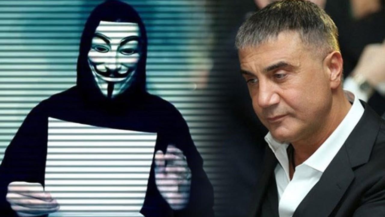 Anonymous'tan Sedat Peker'e: ''Yürü git, faşist''