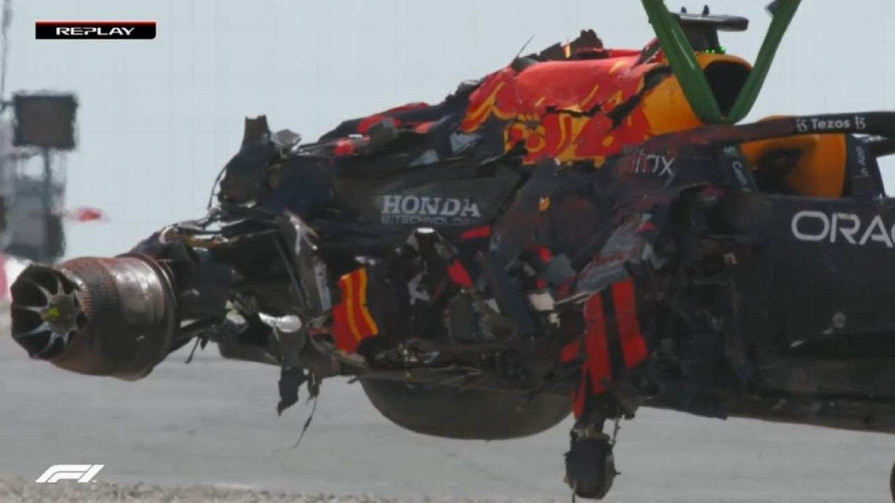 Formula 1'de korkunç kaza
