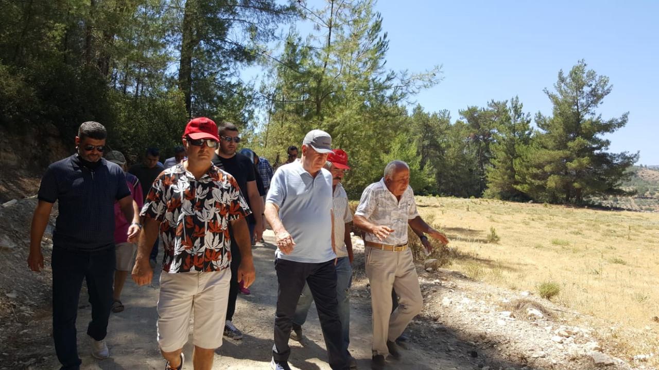 Ümit Özdağ'dan Akbelen'de çam ormanlarının katledilmesine direnen köylülere destek