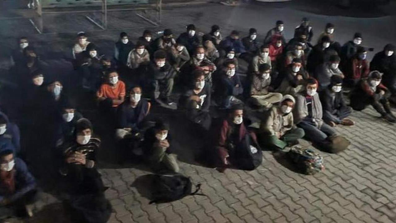 Vali açıkladı; bin 456 göçmen yakalandı