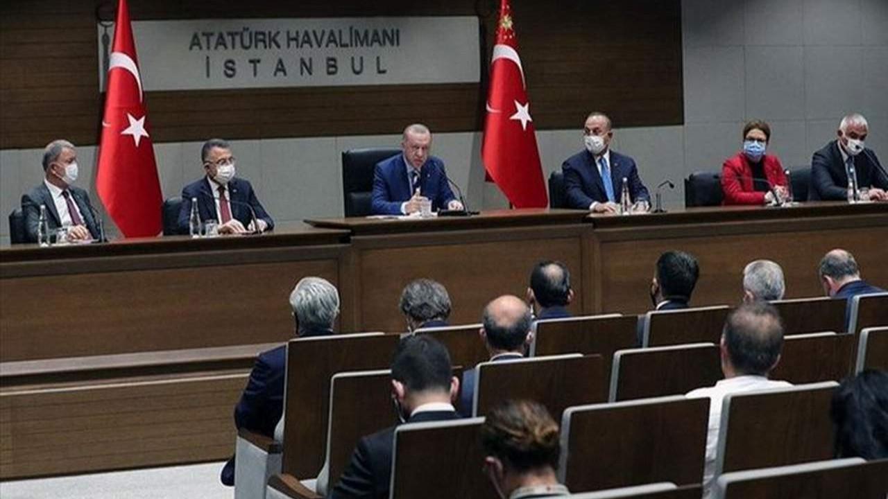 KKTC'ye giden Erdoğan'ın uçağında sürpriz isim