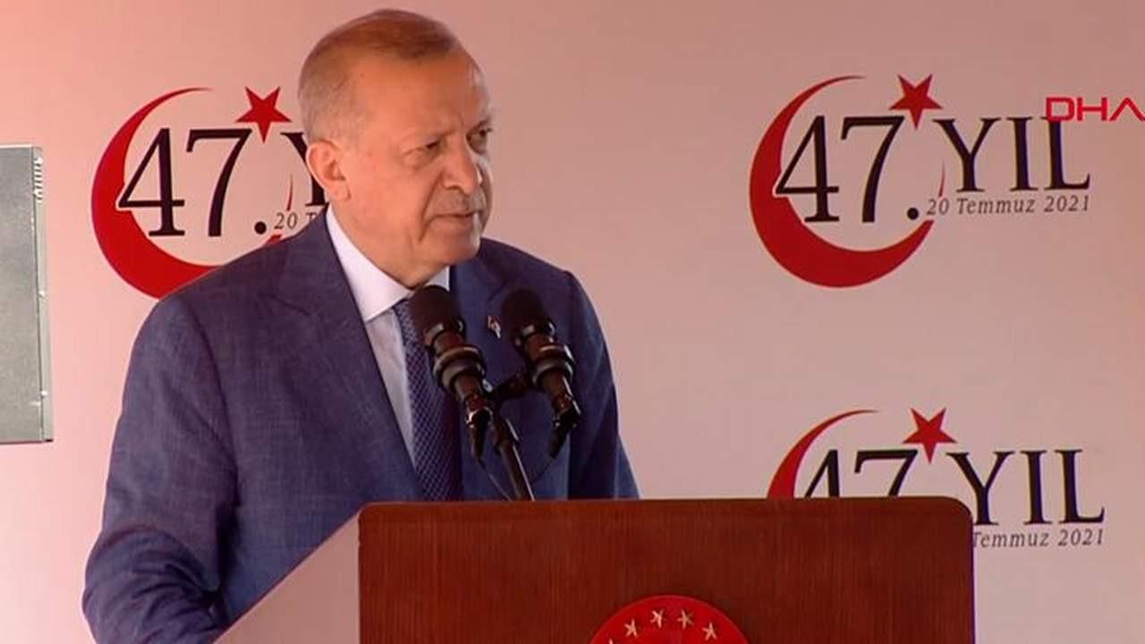 Erdoğan: ''Konuşmak için izni sizden alacak değiliz''